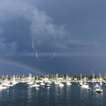 North Shore Rocked by Lightning and Thunderstorms Tuesday Afternoon