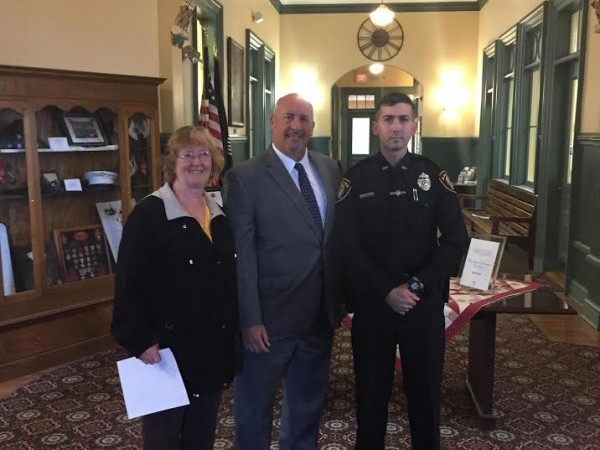 Saugus Police Welcome New Officer – MSONEWSports