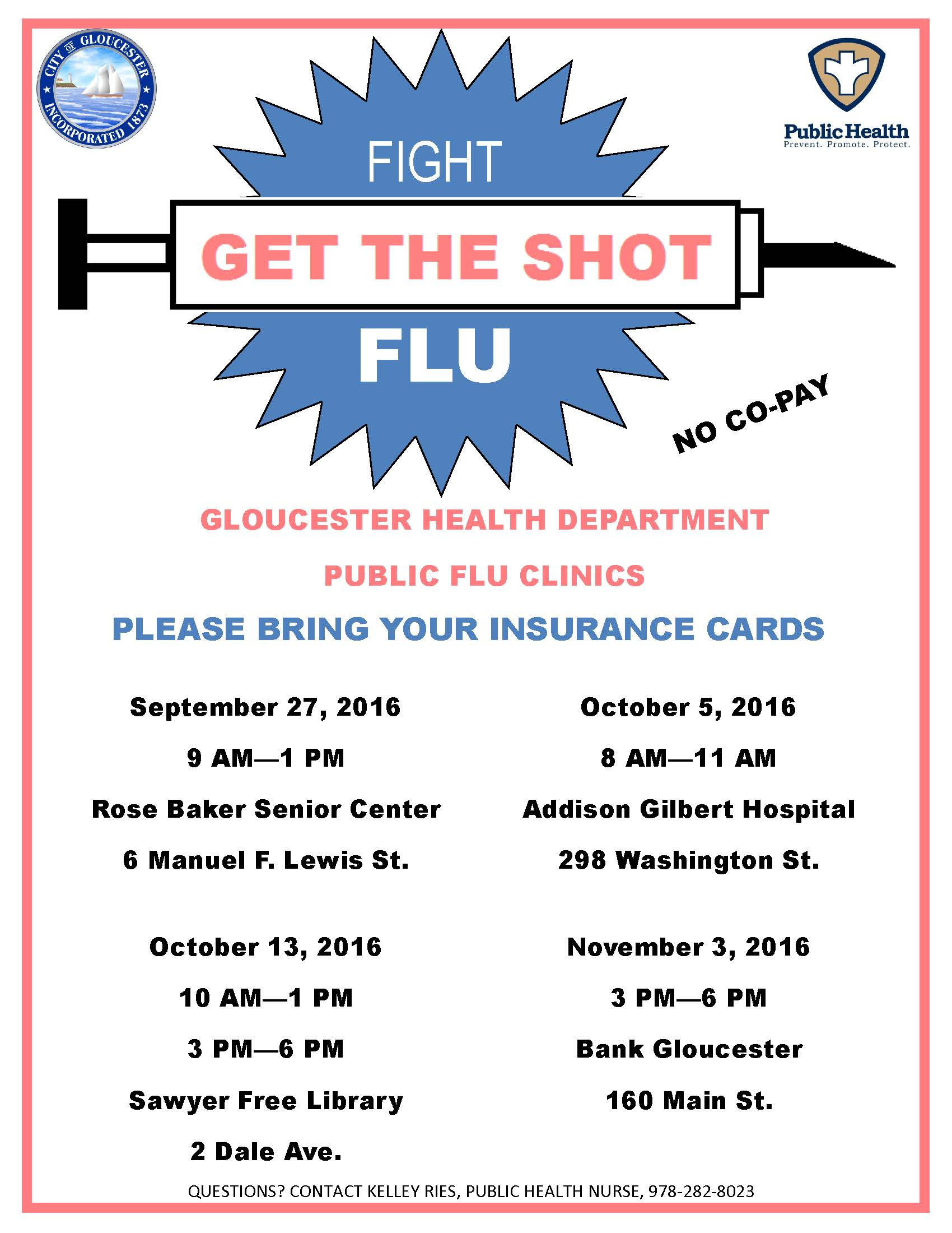 Flu Shot Flyer Dolap Magnetband Co