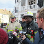 Lynn Fire Press Briefing – Details With District Chief Stephen Archer – Firefighters Involved with Rescuing Woman on 3rd Floor – Videos & Photos