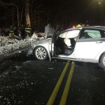Ipswich Police Investigating Crash That Injures Two People – Linebrook Road – Photos