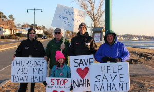 Nahant Residents Standing Out Against Northeastern University Expansion – Videos – Photos – Town Informational Meeting Set For Thursday Night