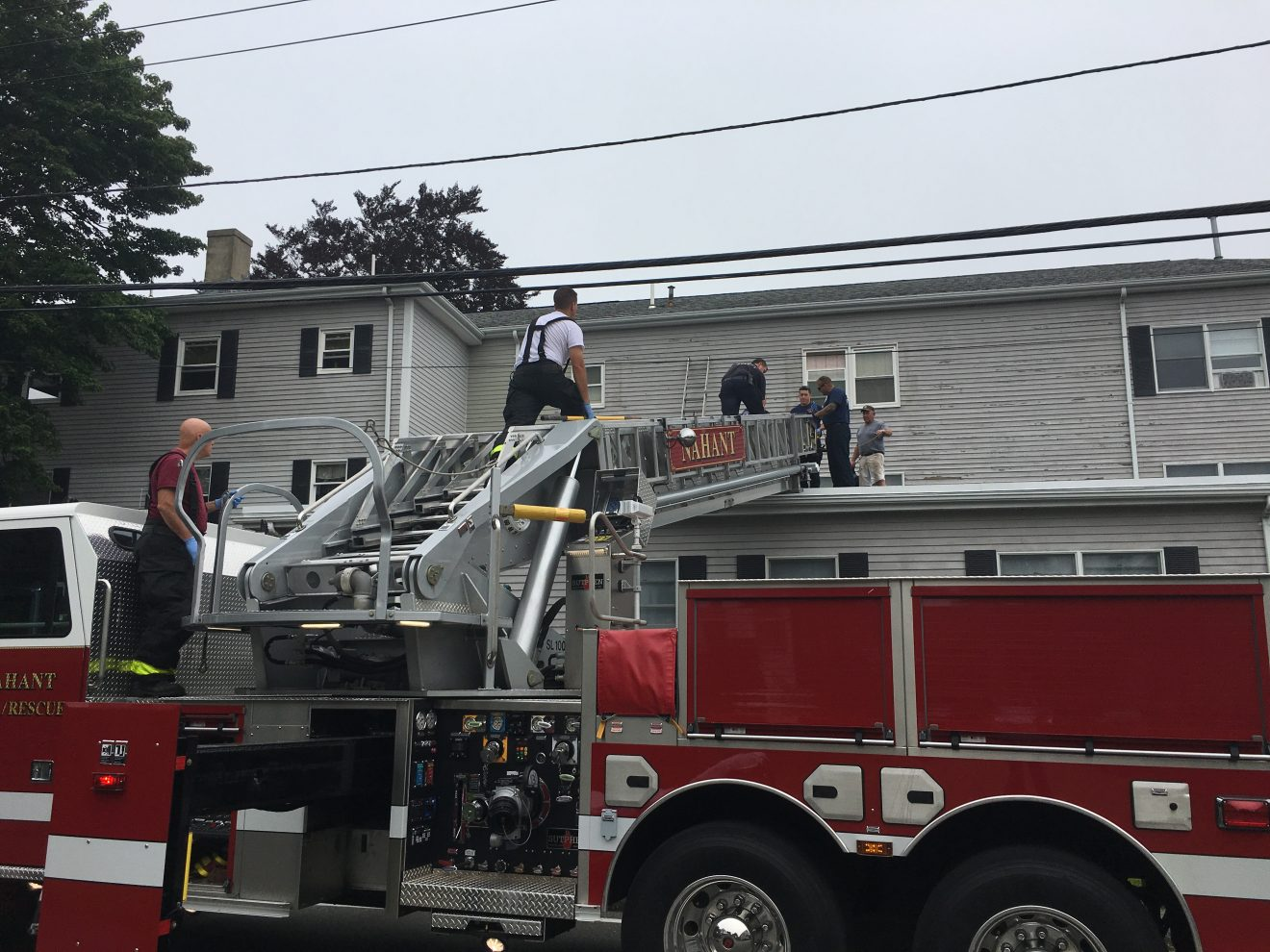 Nahant Fire Department Rescues Man Following Fall From